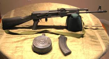 SLR-95 AK variation in 7.62x39mm