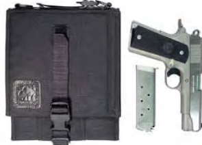 Safepacker holster with pistol