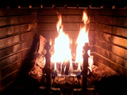 Fireplace_Burning