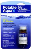 Portable Aqua water Purification Tablets