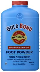 Gold Bind Medicated foot powder_