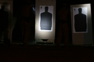lighted target